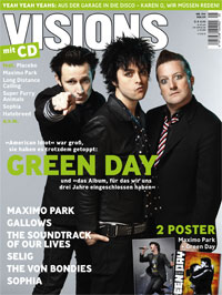 Green Day German Magazine
