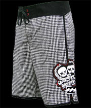 Green Day Mass Hysteria Board Shorts