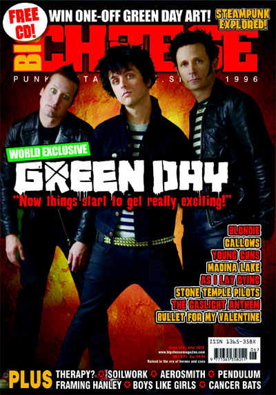 green day Big Cheese Magazine