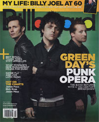 Billboard Green Day Magazine