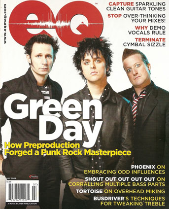 Green day E Magazine