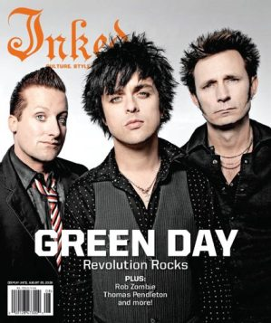 Green day ink magazine