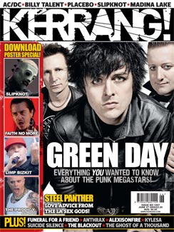 Green Day Kerrang Magazine