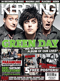 Kerrang Green Day Magazine