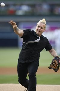 Green Day tre first pitch padres game