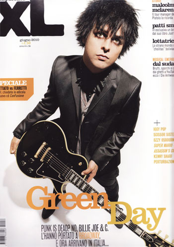 XL Magazine Billie Joe